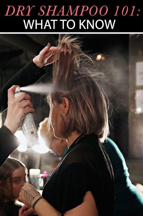 Dry Shampoo - one of my secrets to combat helmet-hair!!