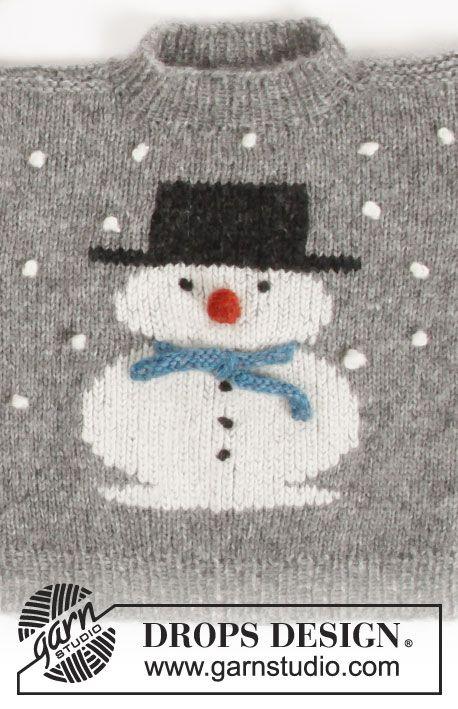 CHRISTMAS CHILDREN/'S GIRLS SNOWMAN KNITTED JUMPER XMAS SWEATER SIZE 2-12