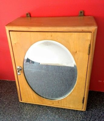 Vintage Retro Corner Bathroom Medicine Wall Mirrored Cabinet 1950 S 34 99 Vintage Mirror Medical Cabinet Mirror