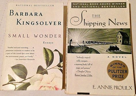 Annie Proulx The Shipping News  Small Wonder Essays By Barbara  Annie Proulx The Shipping News  Small Wonder Essays By Barbara Kingsolver  Fer Business Plan Writers Miami also Bibliography Websites  Efficient Custom Writing