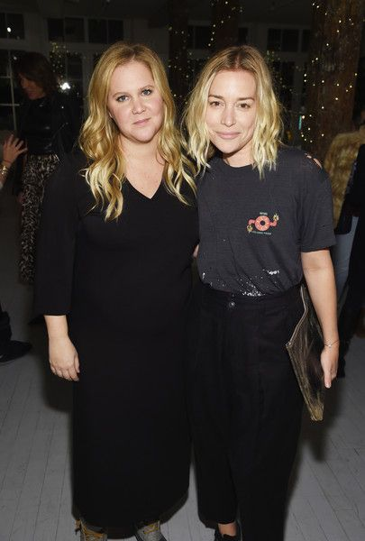 Amy Schumer and Piper Perabo attend as Amy Schumer & Leesa Evans Host Le Cloud Launch Event With Saks OFF 5TH.
