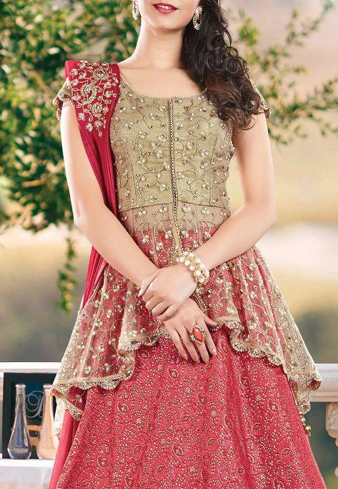 Desi Influenced Dresses Lehenga choli blouse design The formal arrangement is likely to look too sti