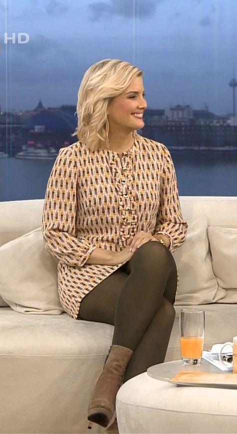 Jennifer Knable Rtl Tv Strumpfhosen Outfit Pantyhose Outfits