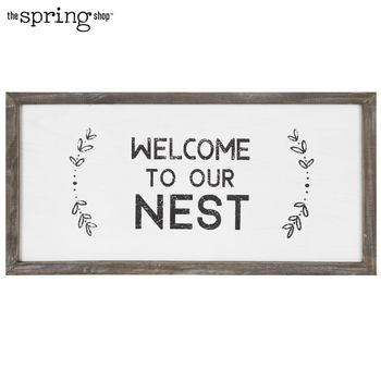 Welcome To Our Nest Wood Wall Decor Wood Wall Decor Shop Wall Decor Hobby Lobby Decor