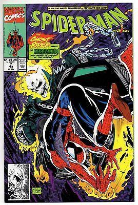 1991 Marvel Comics Spider Man Todd Mcfarlane 7 The Ghost Rider