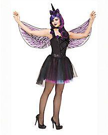 84caa4b57307 Adult Dark Unicorn Costume | Halloween | Unicorn costume, Unicorn ...