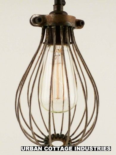 BULB GUARD | wire balloon cage | RAW METAL | Kitchen | Pinterest ...
