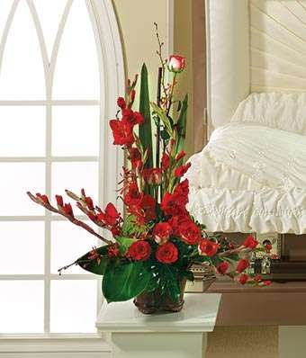 Red Gladiolus Value Bag Anniversary Flowers 40th Wedding Anniversary Party Ideas 40th Anniversary Party