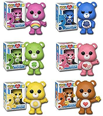 New CARE BEARS Stickers 69 Stickers Grumpy Wish Luck Tenderheart Love Cheer Bear