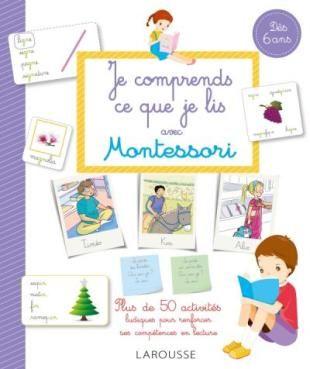 Dictees Muettes Et Alphabet Mobile Mon Cahier Montessori Livre