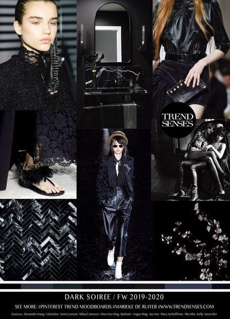 TREND | TRENDSENSES  DARK SOIREE .. FW 2019  20#Fashion#Trends