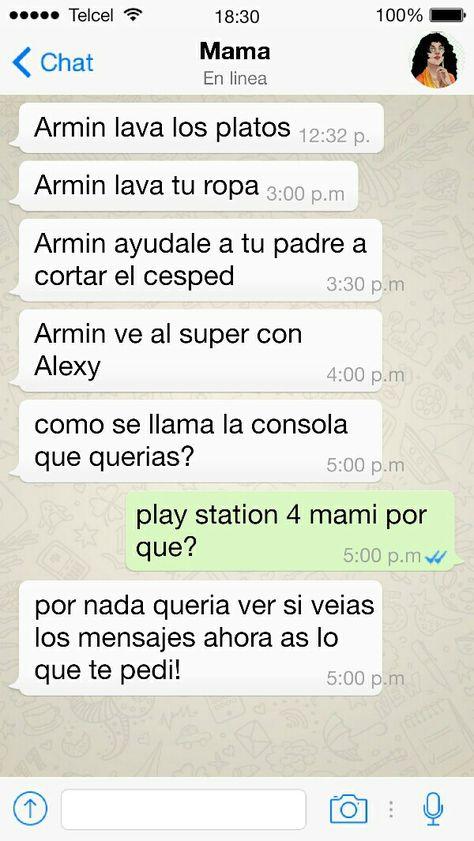 La Mamá De Armin Es Lista Xd Corazón De Melón Pinterest