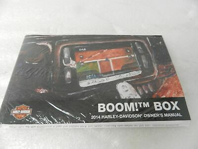 Advertisement Ebay New 2014 Harley Touring Boom Box Owners Manual Kit 99464 14 99517 14ena In 2020 Owners Manuals Boombox Harley