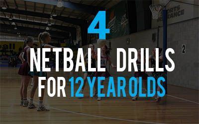 4 Netball Drills For 12 Year Olds Fun Drills Netball Netball Coach Basketball Workouts