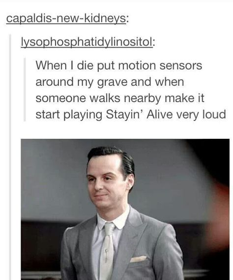 i am doing this. Also there's a strong chance of me haunting it and showing up to dance every time someone trips the sensor.