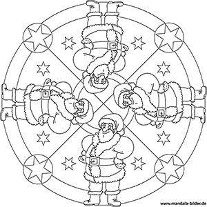 mandala weihnachten kinder pdf | kinder ausmalbilder