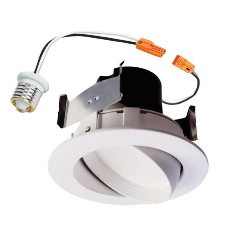 Halo Ra 4 In White Integrated Led Recessed Ceiling Light