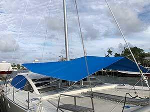 55 Catamaran Multi Awning In 2020 Awning Catamaran Sailing