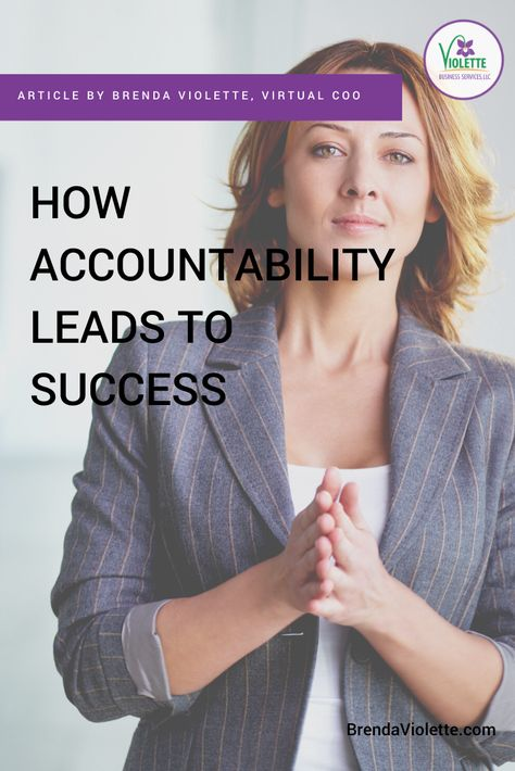 How Accountability Leads to Success
