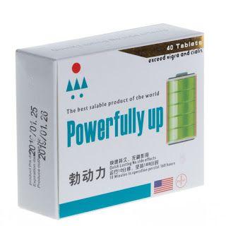 Power Fully Up تأثير علاجي كبير على التهاب البروستاتا النوم ضعف الذاكرة القضيب الصغيرة والقصيرة العجز الجنسي على Tablet Power Convenience Store Products