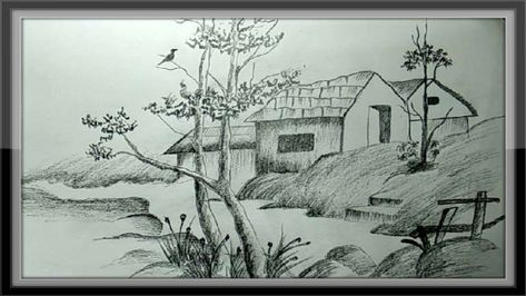 12 Nature Pictures To Draw Nature Drawing Drawingpencilwiki Com In 2020 Pencil Drawings Of Nature Nature Drawing Nature Sketches Pencil