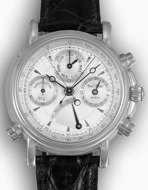 Paul Picot 18krt gouden Technicum Limited Edition Chronometer gecertificeerd  chronograaf €23450,-