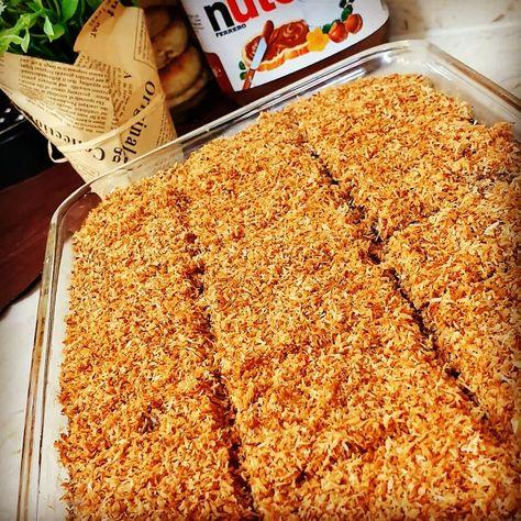 Ayah Alhafez Posted On Instagram كيكة الخشب كوب من الحليب المحموس السميد البسكويت و٢معلقة كبيرة طحين وعلى جنب بيضتين مع كوب Yummy Food Delicious Food