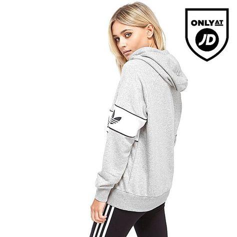 ba3db1fd32a adidas Originals Sweat à Capuche Authentic Femme