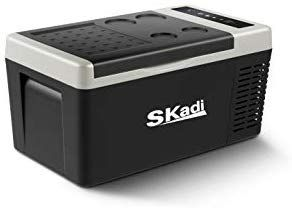 Skadi 19 Quart 12v Dc Portable Freezer Car Refrigerator Car Fridge Vehicle Compact Fridge For Truck And Home Tour Car Refrigerator Compact Fridge Fishing Trip