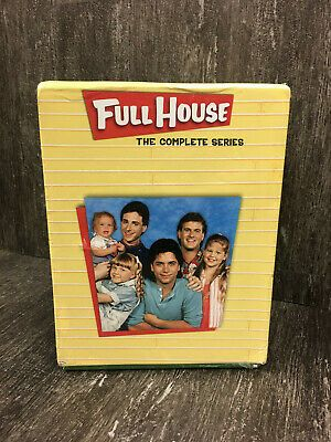 Full House The Complete Series Dvd Collection 32 Disc Set 2014 New Sealed Look 29 Bids Full House Complete Series Full House Series