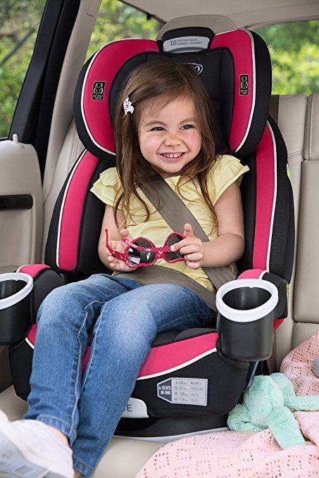 Graco 4Ever 4-in-1 Convertible Car Seat Azalea 1