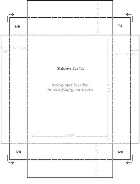 printable template for 4 - index card template
