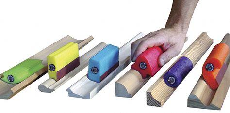 """Woodworker.com: SOFT-SANDERS<SUP STYLE=""""FONT-SIZE:8PT"""">TM</SUP> FLEXIBLE SANDING BLOCKS"""