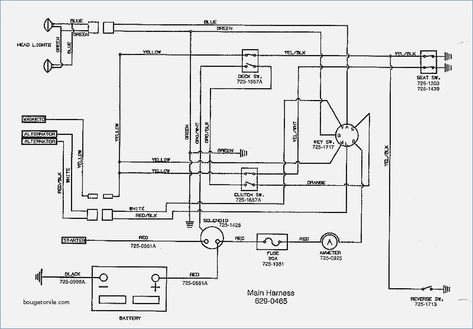 Wiring Diagram Mtd Lawn Tractor Wiring Diagram And by 4