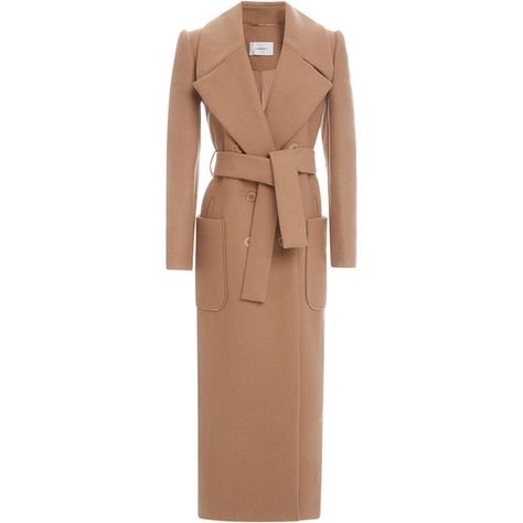 Long Belted Coat by Carven for Preorder on Moda Operandi. Hard to pull this off when your petite, but beautiful design for those with long legs
