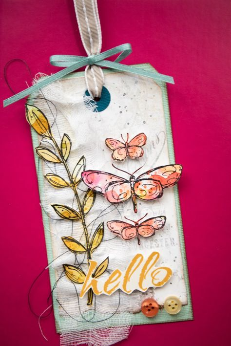 Join me tomorrow for a gorgeous Bella Style Wednesday Project. I will be teaching you how to create a mixed media style layered tag featuring Darkroom Door Fine Butterflies and Leaves images. I'll …