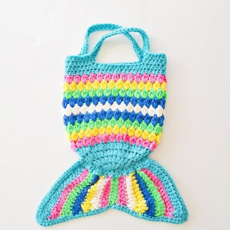 Crochet coin purse mermaid purse READY TO SHIP crocodile stitch purse