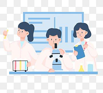 實驗室做實驗的人 研究剪貼畫 實驗室 平面樣式素材 Psd格式圖案和png圖片免費下載 Colorful Backgrounds Cartoon Styles Background Banner