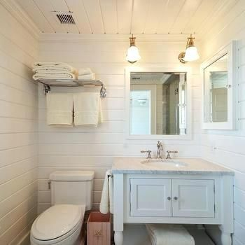 Bathroom Walls Beach Cottage