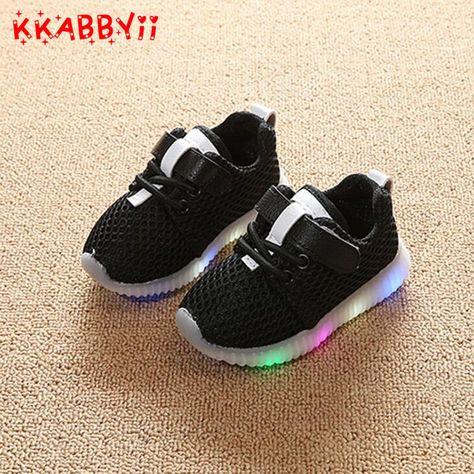Heißer VERKAUF Kinder Schuhe Mit Licht Neue Beliebt in