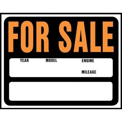 Hy-Ko 15 - car for sale sign printable