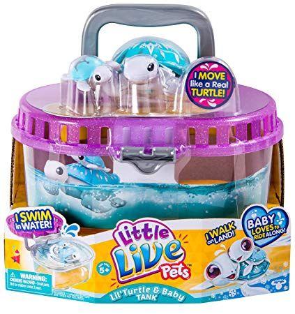 Little Live Pets S4 Lil Turtle Tank Snowflake Little Live Pets Pet Turtle Turtle Tank