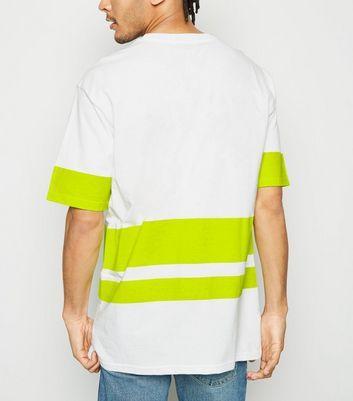 Green Neon Stripes Men/'s T-Shirt