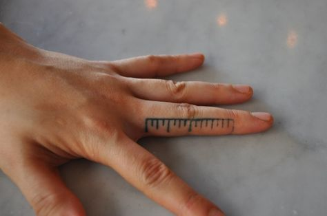 Smart tattoo for chefs and handy people :)