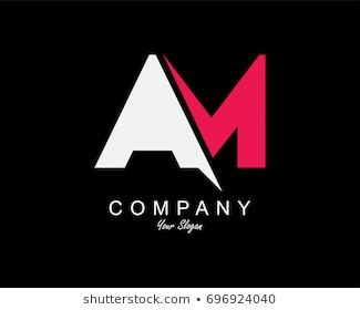 Am Logo Images Stock Photos Vectors Shutterstock Letter