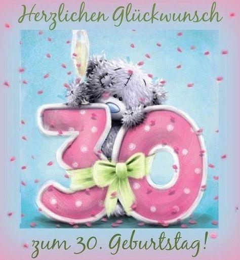 Pin Von Cheryl Mcmullin Auf Bear Messages Gluckwunsche Zum 30