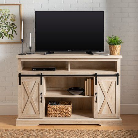 Home In 2020 With Images Oak Tv Stand Barn Door Tv Stand