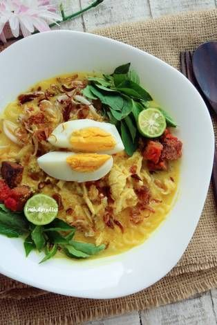 Laksa Betawi Resep Resep Resep Masakan Indonesia Resep Masakan
