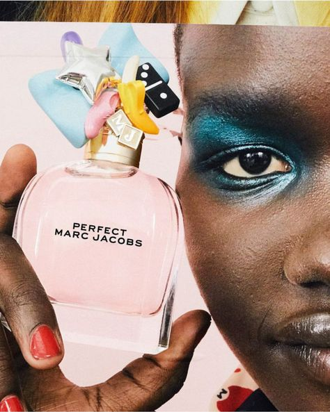 """What does perfection smell like? Ask Marc Jacobs. Through this ensemble of unique spirits, Jacobs hopes to amplify the message of self-love and acceptance. """"I remind myself every day that I'm perfect as I am. And it's taken me a long time to feel that way or to feel confident in saying that, he muses."""