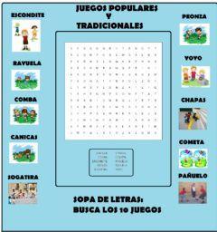 Sopa De Letras Juegos Populares Y Tradicionales Idioma Español O Castellano Curso Nivel 2º Primar En 2020 Ejercicios De Educacion Fisica Educacion Fisica Educacion